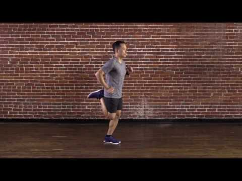 High Knees Butt Kickers in Place | 24 Hour Fitness