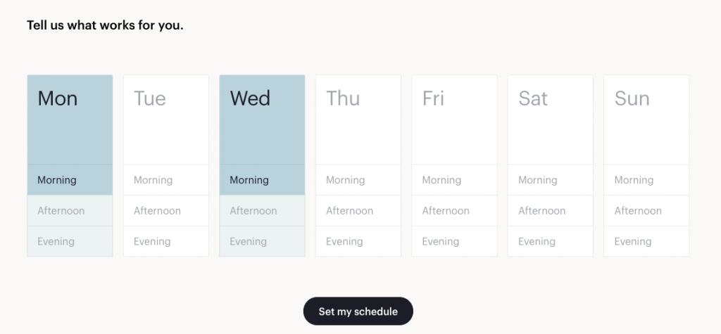 Glo Scheduling